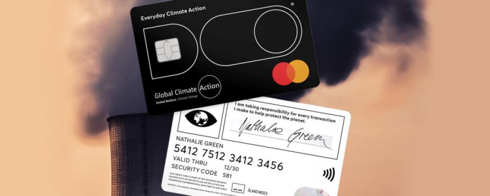 [ Creapills ] Cette carte bancaire calcule votre empreinte carbone et se bloque si vos achats polluent trop