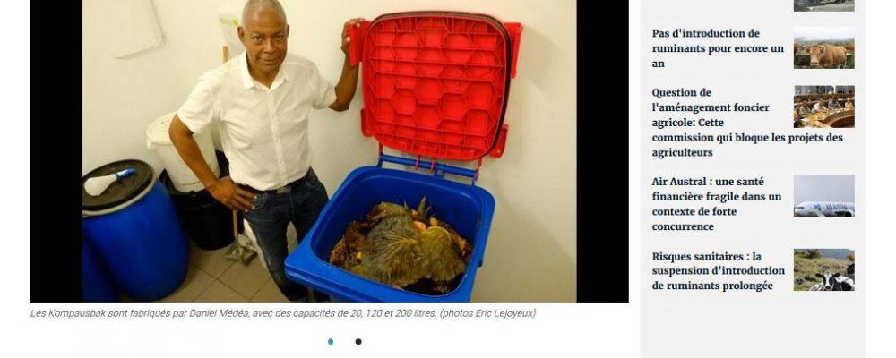 [ Clicanoo] Une autre manière de faire du compost