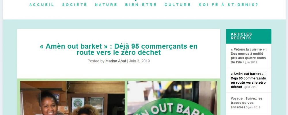 [ Apressi ] « Amèn out barket » : Déjà 95 commerçants en route vers le zéro déchet