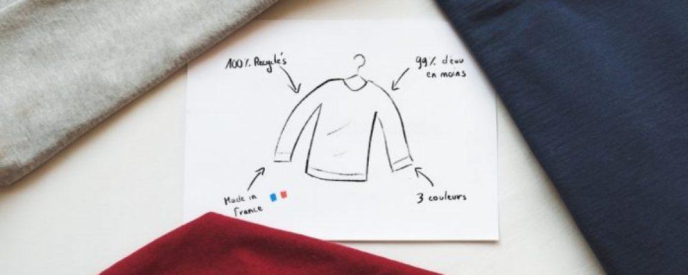 [ PositivR ] Héro : un sweat-shirt qui économise 99% d'eau et 12 kg de CO2