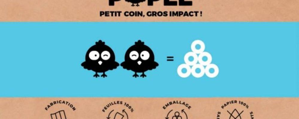 [ PositivR ] Popee, le papier toilette 100% recyclé, 100% sans chlore et 100% français